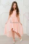 Платье нарядное для девочки арт. ИР-1711, цвет персик