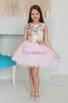 """Платье арт. ОК-04, """"Пачка"""", цвет розовый"""