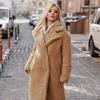 трендовое меховое пальто Teddy Bear от дизайнеров Gepur