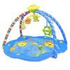 42241 Коврик детск. развивающ. с дугами Морские обитатели, 5 игрушек, музыка, 82*82*52 см