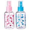 Бутылочка косметическая 75мл, пластик, 2 цвета 305-151
