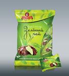 Зефир в подарочной упаковке «Зеленый чай в шоколаде»