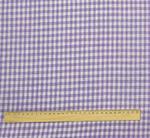 """Ткань клеточка фиолетовая лен-100%"""" добавлен в закупку."""