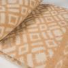 Одеяло п/шерсть 85% 170*205 жаккард цв 6 бежевый