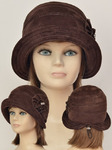 шляпа Бэтти (замша)
