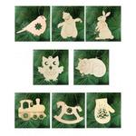 набор из 8 игрушек с колокольчиком для раскрашивания