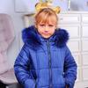 """Зимняя куртка для девочки """"Бантик"""""""