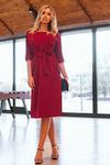 Платье Б*П 2075 бордовый