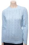 6179 Джемпер женский (голубой)