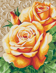 GX22452 Чайные розы картина по номерам 40х50