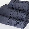 Комплект полотенцев из 3 штук Серый