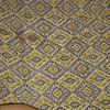 отрез штапеля бежевые ромбики (1,2 м) есть брак, скидка