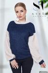 Теплый мягкий и очень комфортный свитер из вязаного трикотажа