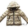 М.1050 Куртка Moncler золото ( металик )
