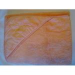Детский уголок-полотенце с вышивкой заяц и ProTex (бамбук+хлопок+микрофибра) 100х100
