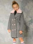 """Демисезонное пальто для девочки """"VPD-5"""""""
