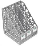 Лоток вертикальный сборный 5-ти секционный серый ЛТ84 295*250*245