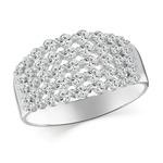 Кольцо серебряное 925 Артикул:10-0112