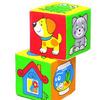 Кубики Чей домик, 2 кубика