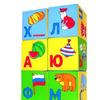 Кубики Азбука в картинках,6 кубиков
