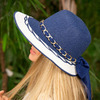 Шляпа «Навона» 1846 от Braxton, цвета черный, темно-бежевый, синий, светло-бежевый, малиновый, голубой, белый