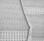 Сетка вышивка с кордовой нитью 10088 Артикул: 26/10088-502 белый  Ширина рулона: 280 см