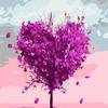 GX7460 Дерево любви картина по номерам 40х50