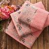 "Полотенце махровое ""MABELLA PEMBE"", 70*130, розовый"