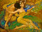 Картина по номерам Paintboy «идиллия взаимоотношений женщины и мужчины
