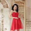Платье Эмма б/р от Glem, цвета голубой, красный, лавандовый
