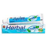Зубная паста Herbal Fresh&Cool Twin Lotus, с травами свежесть и прохлада, 100 г