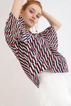 Блузка с принтом B2305/tentacion