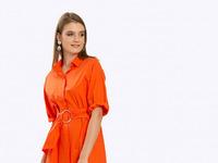 Платье PL802/satura