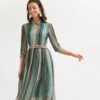 Шифоновое платье А-силуэта PL984/vinslou