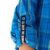 Сорочка верхняя детская для мальчиков Aerody синий