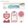 Шильдик декоративный в наборе «Время подарков», 17 x 15 см