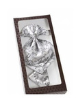 Галстук-Жабо и платок, цвет серый