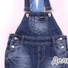 Полукомбинезон ЯСЛИ джинсовый для мальчика