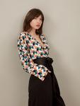 Блуза 19-0104