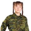 Костюм Военно-полевой детский цв. Флора тк. Смесовая