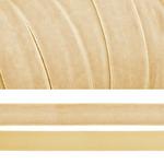 Лента бархатная арт.TBY.LB2004 нейлон шир.20мм цв.молочный , цена за 1 м