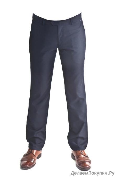 Брюки мужские сине-черные 4442