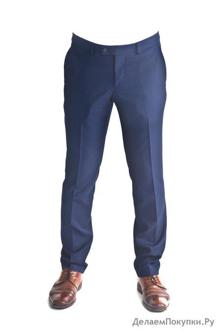 Брюки мужские синие 51169