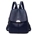 Городской рюкзак A-Y22 -черный, синий, красный