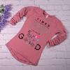 Туника c длинным рукавом Times Good, пепельно-розовый
