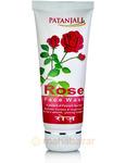 Гель для умывания лица Роза, 60 г, Патанджали; Divya Rose Face Wash, 60 g, Patanjali