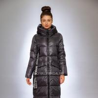 Женская куртка зимняя 991 графит