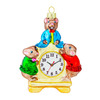 """Часы """"Три веселых мышки"""" (стекло) 9,2х12 см"""