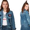 Куртка для девочки A-YUGI арт.17074