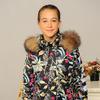 "Зимняя куртка для девочки ""Софи"" (размер 36-40)"